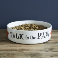 Pet Bowl Talk to the Paw