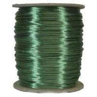 Rattail 3mm Emerald per Meter
