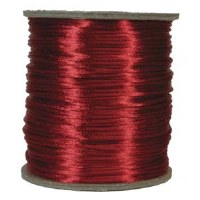 Rattail 3mm Red per Meter