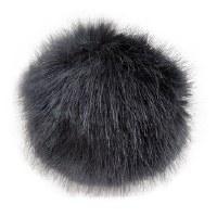Rico Fake Fur Pompom 10cmMidni