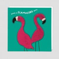 Redback Sequin Flamingo