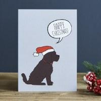 Sweet William Christmas Dog