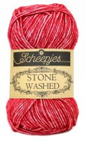 Scheepjes Stone Washed 807 Red