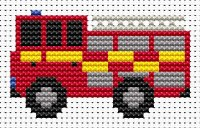 Fat Cat Sew Simple Fire Engine