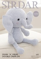Sirdar 2472 Elephant Toy