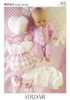 Sirdar 3072 Baby Dolls Clothes
