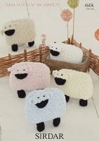 Sirdar 4606 Lamb in Sir Bubbly