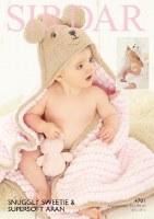 Sirdar 4701 Hood Blanket Sweet