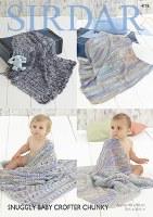 Sirdar 4776 Blankets in chunky