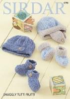 Sirdar 4790 Hats & Bootees