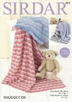 Sirdar 4813 Blankets Snuggly