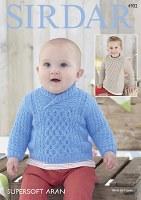 Sirdar 4902 Sweaters Aran