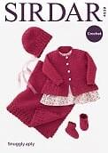 Sirdar 4939 Coat, hat etc 4ply