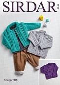 Sirdar 4943 Cardi & Sweater dk
