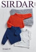 Sirdar 4945 Sweaters, blank dk