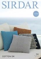 Sirdar 7822 Cushions in dk