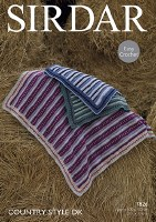 Sirdar 7826 Blankets in dk