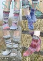 Sirdar 7879 Socks in Aura