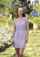 Sirdar 7928 Dress in Amalfi dk