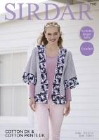 Sirdar 7945 Kimono cotton dk