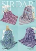 Sirdar 7959 Blankets in Flurry