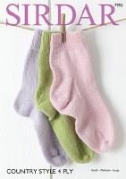 Sirdar 7993 Socks