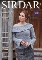 Sirdar 8155 Sweater in Dapple