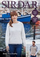 Sirdar 8175 Sweater in chunky