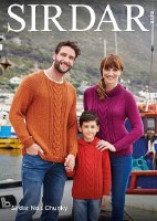 Sirdar 8178 Sweaters in chunky