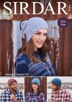 Sirdar 8180 Hats in Harrap dk