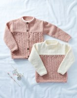 Sirdar 2504 Sweater Jacket ara