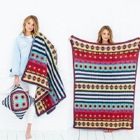 Stylecraft 9528 Boho Blanket