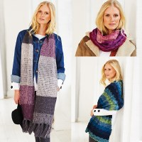 Stylecraft 9486 Scarves Batik