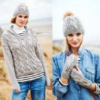 Stylecraft 9556 Sweater & Hat