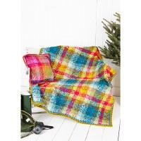 Stylecraft 9255 Tartan Blanket