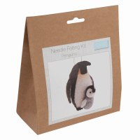 Needle Felting Kit Penguins