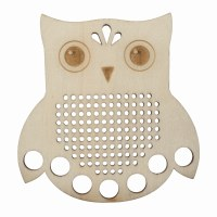 Embroidery Floss Holder Owl