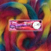 DWE Rainbow Wool Yellow-Blue-P