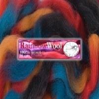 DWE Rainbow Wool Orange-Red-Gr
