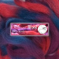 DWE Rainbow Wool Blue-red