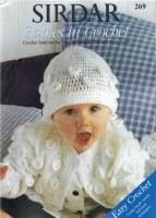 Sirdar 269 Babies In Crochet