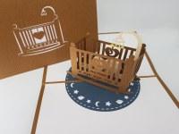 Paperbear Baby Crib