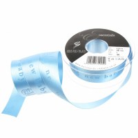 Ribbon Satin 25mm New Baby Blu