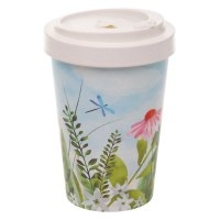 Bamboo Travel Cup Botanical