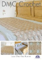 DMC Crochet Bed Runner