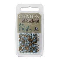 Preciosa Chaton Singles Aqua