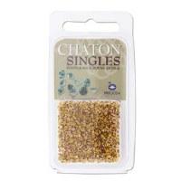 Preciosa Chaton Singles Topaz