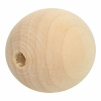 Wooden Beads Natural 30mm