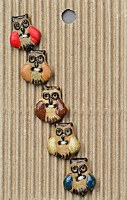 Incomp Buttons L567 Small Owl