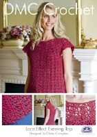 DMC Crochet Evening Top